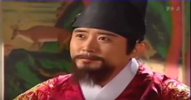 チャングムの誓いの中宗王
