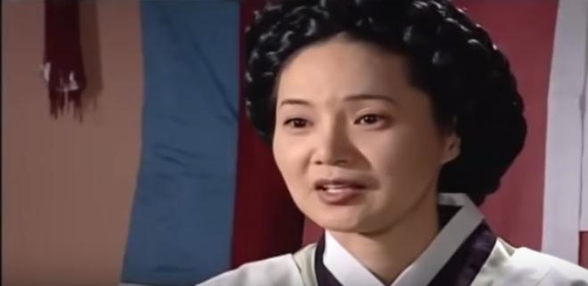ハン尚官役のヤンミギョンさん